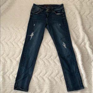 Delia's Distressed Skinny Jeans (Jayden)